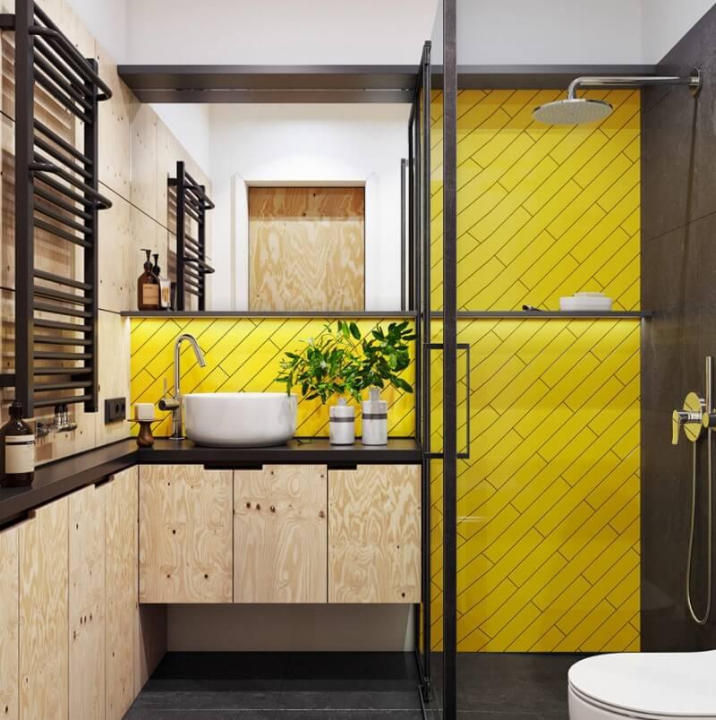 Thiết kế nội thất phòng tắm chung cư diện tích nhỏ 30m2