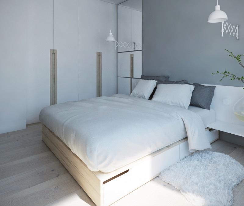 Thiết kế phòng ngủ chung cư 40m2