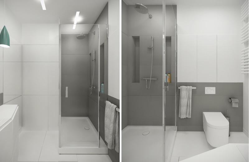Thiết kế phòng tắm chung cư 40m2