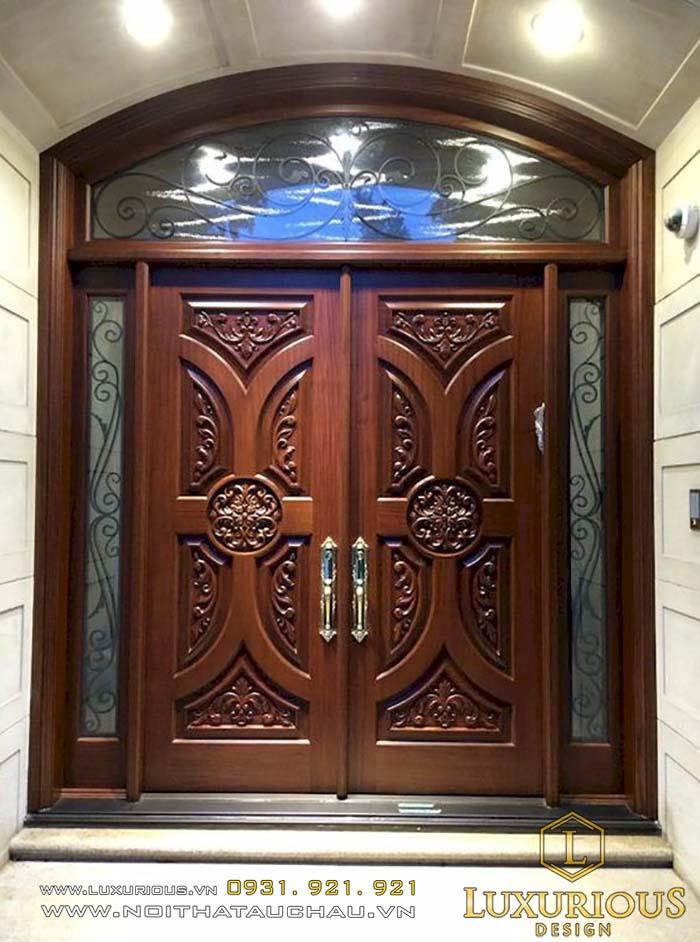 cửa gỗ cổ điển, tân cổ điển