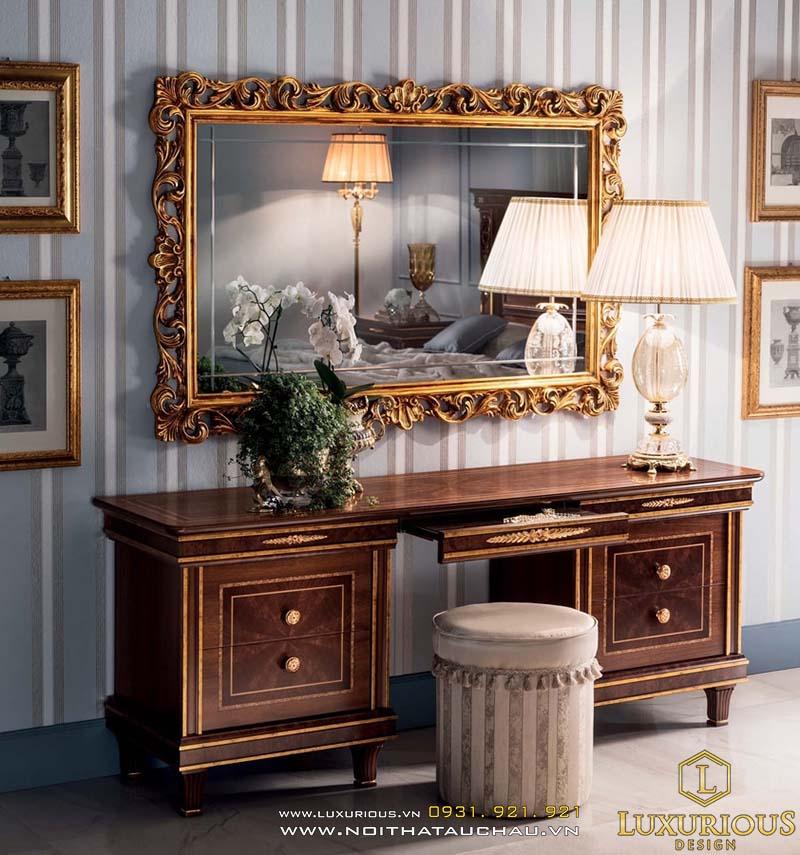 Bộ bàn ghế sang trọng với thiết kế độc đáo