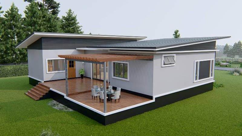 thiết kế nội thất nhà cấp 4 đẹp 2021