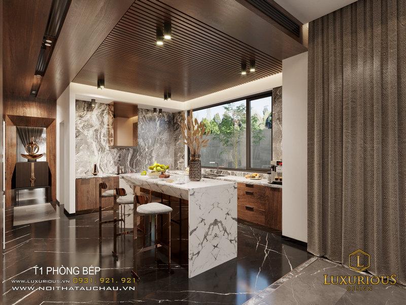 Thiết kế nội thất biệt thự Ngọc Trai