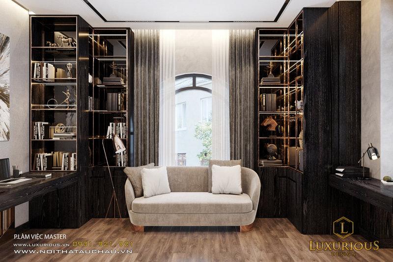 Mẫu thiết kế nội thất biệt thự sang trọng