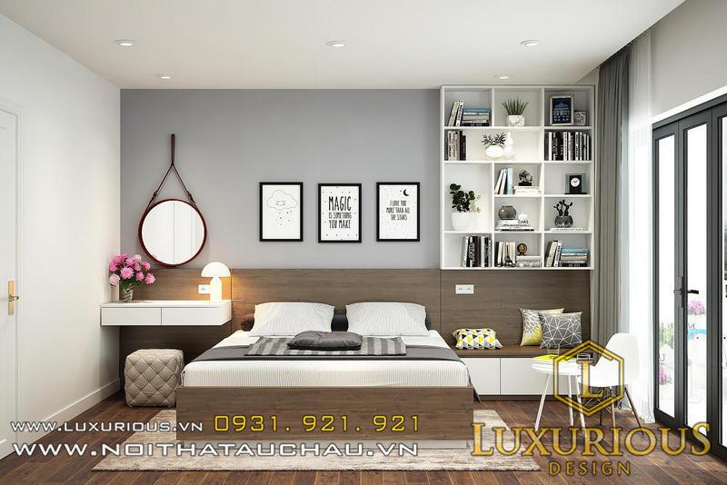 Thiết kế nội thất thông minh cho phòng ngủ chung cư