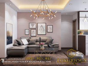 Phòng khách mang đến sự trẻ trung trong thiết kế