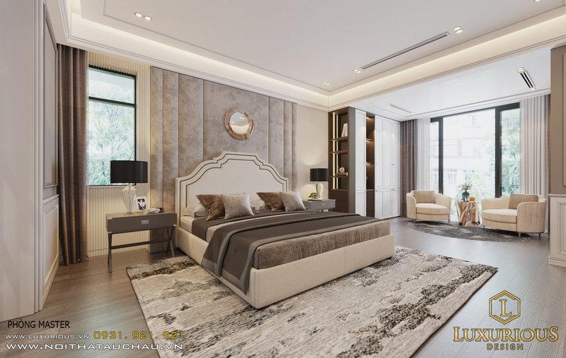 Phòng ngủ Master trang nhã