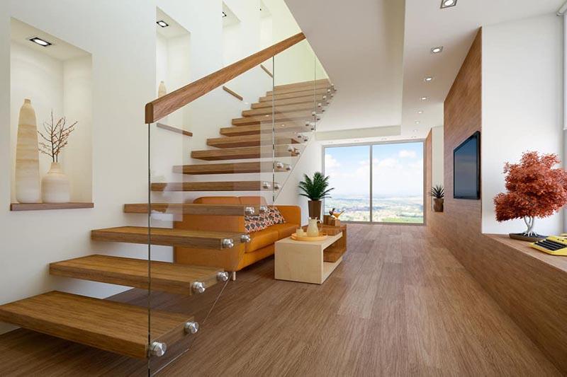 Luxurious Design tư vấn thiết kế cầu thang đẹp