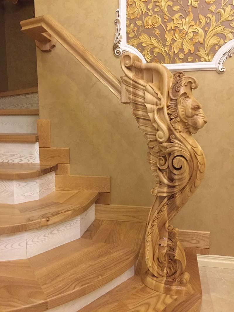 Mẫu cầu thang gỗ đẹp nhất