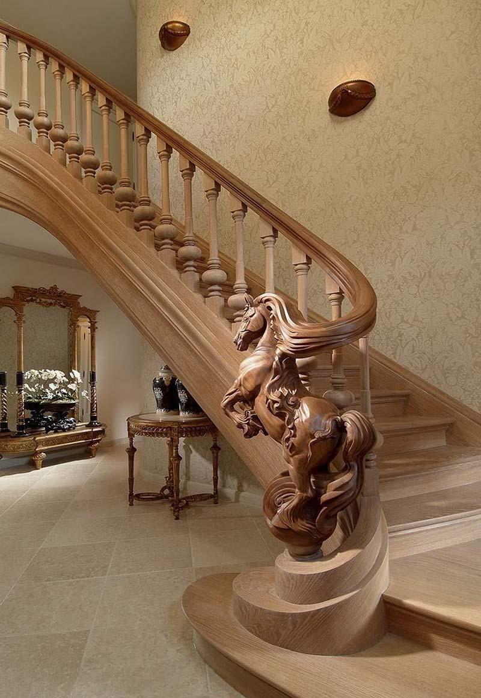 Cầu thang gỗ đẹp nhất