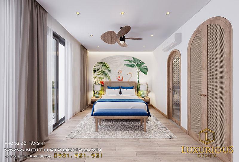 Phòng Ngủ ĐơnMang Phong Cách Địa Trung Hải