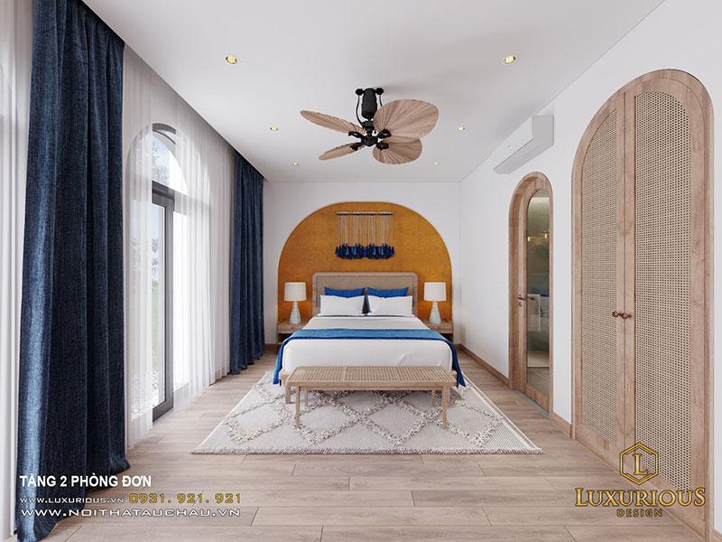 Phòng Ngủ Đơn Mang Phong Cách Địa Trung Hải