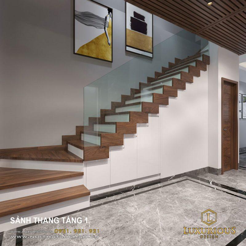 Thiết kế cầu thang nhà đẹp