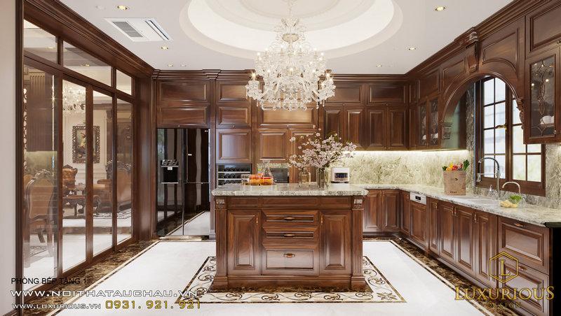 Phòng bếp đẳng cấp