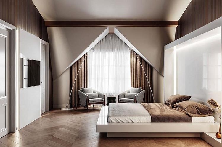 mẫu phòng ngủ nam đẹp