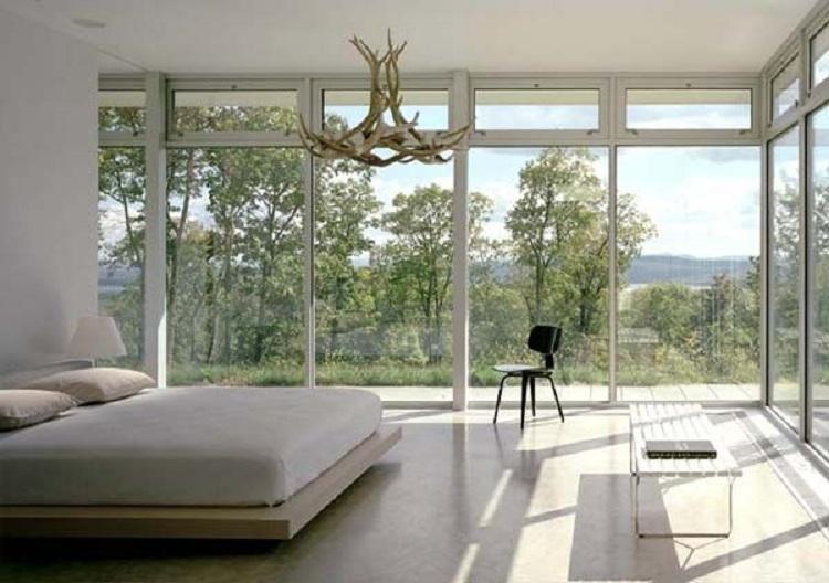phòng ngủ đẹp hiện đại hướng thiên nhiên