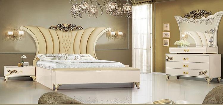 phòng ngủ đẹp nhất thế giới phong cách hoàng gia