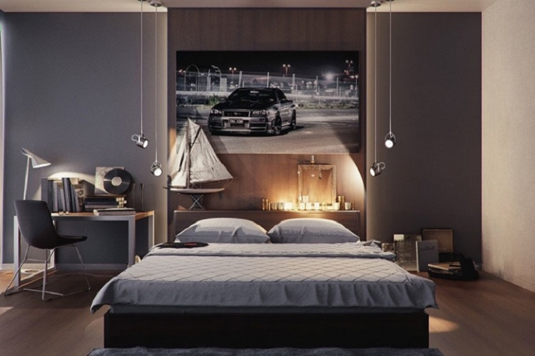 phòng ngủ nam