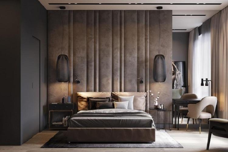 phòng ngủ nam đẹp trẻ trung