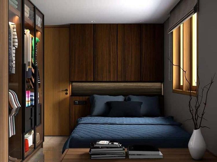 thiết kế phòng ngủ nam chung cư
