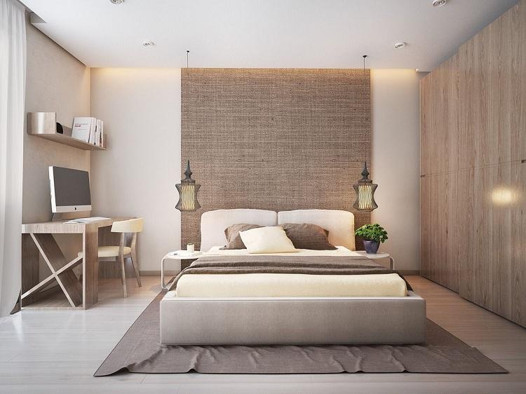 thiết kế phòng ngủ nam đẹp