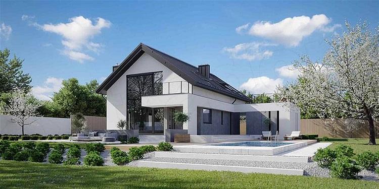 thiết kế biệt thự nhà vườn cấp 4 đơn giản