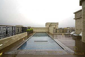 Mẫu biệt thự nhà vườn có bể bơi