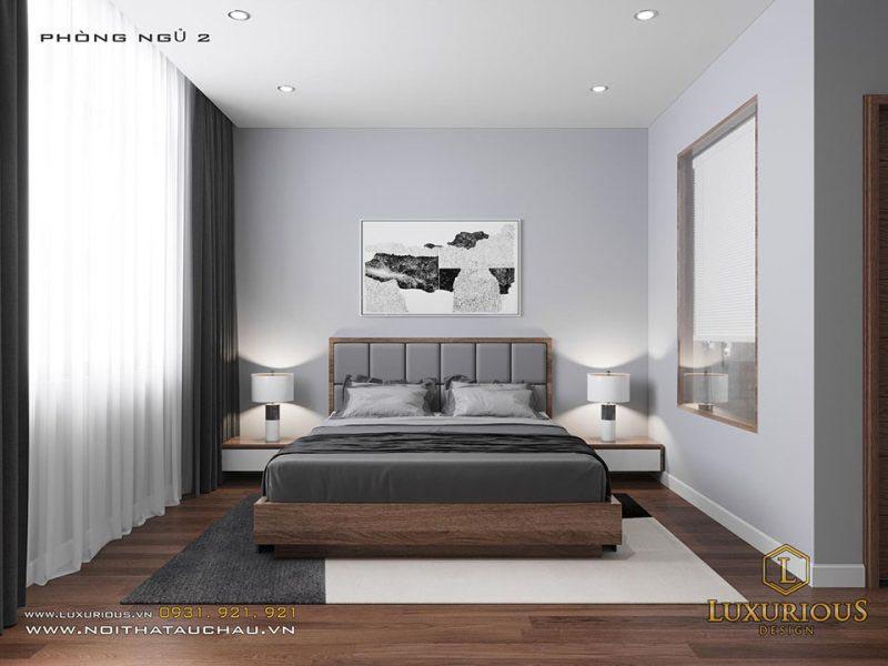 10m2 tạo nên một phòng ngủ cực đẹp không thiếu nội thất gì