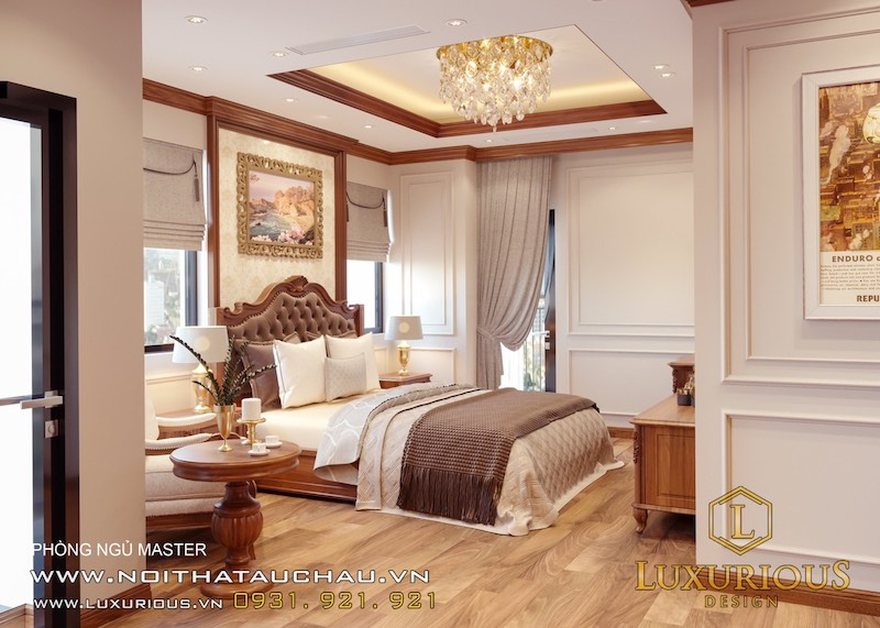 Phong cách tân cổ điển cực đẹp dành cho phòng ngủ
