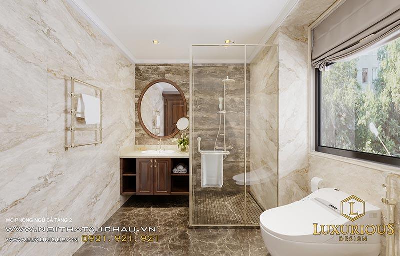 Nhà vệ sinh kết hợp phòng tắm
