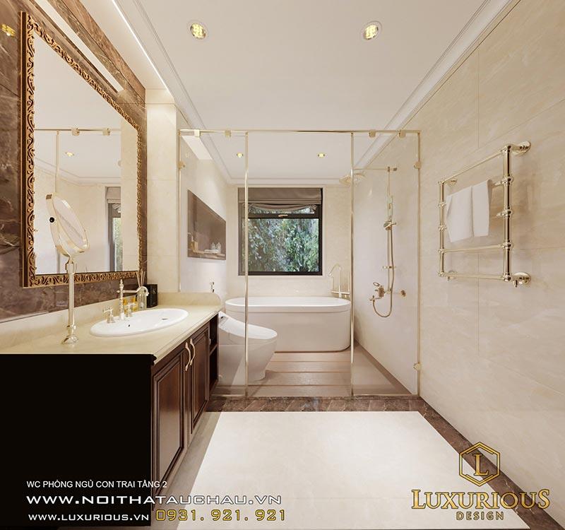 Mẫu phòng tắm có cực kỳ sang trọng, hiện đại