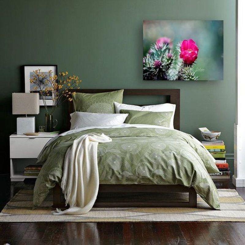 Màu xanh rêu trong thiết kế nội thất
