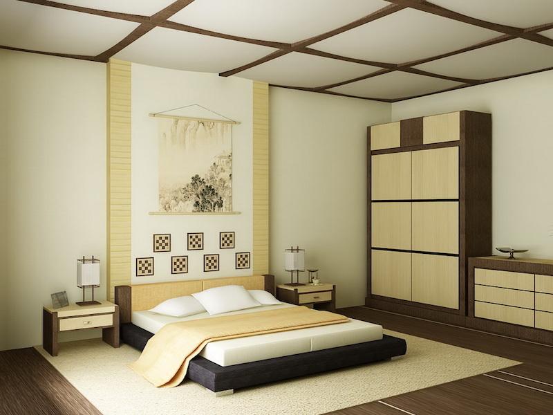 Phòng ngủ đẹp kiểu Nhật Bản