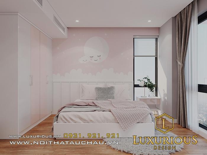 Màu hồng pastel cực đẹp cho thiết kế phòng ngủ