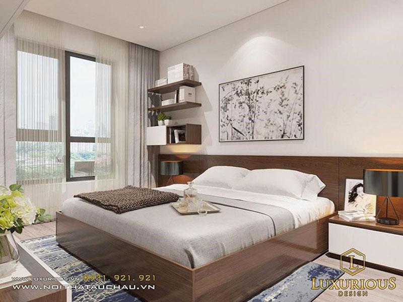 Không gian phòng ngủ nhỏ đẹp 8m2