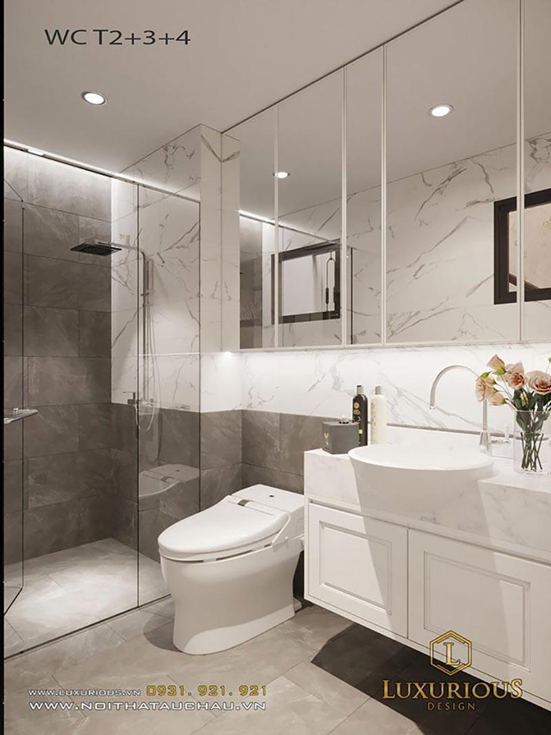 Phòng tắm tân cổ điển